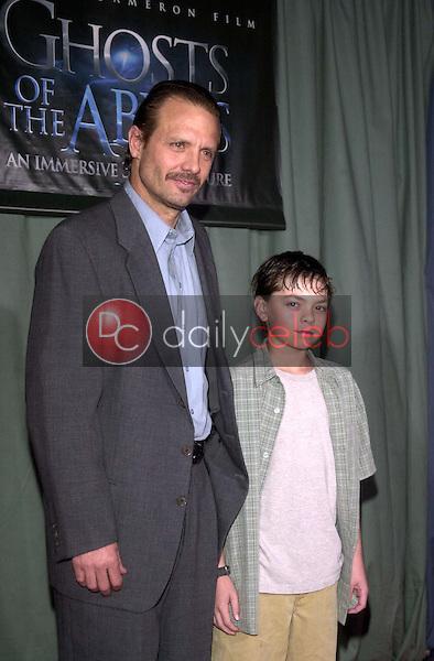 Michael Biehn and son Caelan