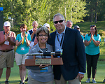 A photograph taken during the Barracuda Golf Championship at Montreux on Sunday, August 5, 2018.