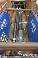 UConn Steam and Condensate Line and Vault Replacement Project. Task No. 02 - Progress Documentation 12 July 2017. Number 36 of 38 Images