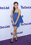 Rachel Bilson  at The CBS Films L.A. Premiere of The To Do List held at The Regency Bruin Theatre in Westwood, California on July 23,2013                                                                   Copyright 2013 Hollywood Press Agency