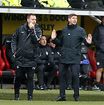 03.11.18 St Mirren v Rangers: Michael Beale and Steven Gerrard