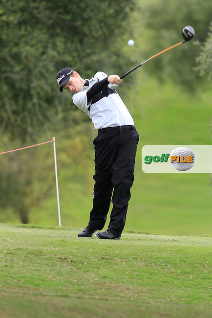 Kevin Phelan (IRL) during Round 1 of the NH Collection Open at the La Reserva de Sotogrande Club de Golf in Cadiz Spain on Thursday 3rd April 2014<br /> Picture:  Thos Caffrey / www.golffile.ie