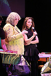 Allee Willis with Mary Padian during 'Ba-de-ya Baby! Or: How I Learned to Love Theatre' for La Mama's 55th Anniversary Gala at La Mama on November 10, 2016 in New York City.