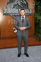 LOS ANGELES, CA - JUNE 12: Chris Pratt, at Jurassic World: Fallen Kingdom Premiere at Walt Disney Concert Hall, Los Angeles Music Center in Los Angeles, California on June 12, 2018. <br /> CAP/MPIFS<br /> &copy;MPIFS/Capital Pictures