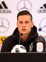 Julian Draxler (Deutschland, Germany) - 28.05.2018: Pressekonferenz der Deutschen Nationalmannschaft zur WM-Vorbereitung in der Sportzone Rungg in Eppan/Südtirol