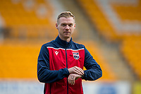 29th December 2019; McDairmid Park, Perth, Perth and Kinross, Scotland; Scottish Premiership Football, St Johnstone versus Ross County; Billy McKay of Ross County inspects the pitch before the match - Editorial Use