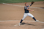 30 MAY 2016: Alaina Kissinger (23) of University of Texas-Tyler prepares for a pitch during the Division III Women's Softball Championship is held at the James I Moyer Sports Complex in Salem, VA.  University of Texas-Tyler defeated Messiah College 7-0 for the national title. Don Petersen/NCAA Photos