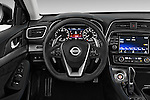Car pictures of steering wheel view of a 2018 Nissan Maxima SR 4 Door Sedan Steering Wheel