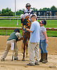 Silver Trophy winning at Delaware Park on 7/5/17