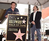 HOLLYWOOD - FEBRUARY 12: Rupert Friend and Mandy Patinkin as Mandy Patinkin was honored with a star on the Hollywood Walk of Fame today, where Homeland's Rupert Friend and broadway legend Patti LuPone spoke to his storied career and humanitarian work.The ceremony was followed by a celebratory luncheon given by Fox 21 Television Studios and Showtime.  Homeland's seventh season premiered on Showtime February 11, and airs Sundays at 10 PM. (Photo by Frank Micelotta/FOX/PictureGroup)