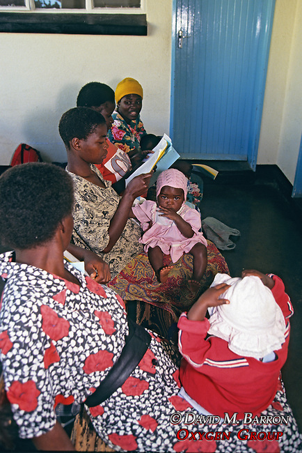 Women Waiting To Be Seen At Clinic