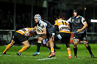 Hanno Dirksen of Ospreys in action during the Guinness Pro 14 Round 7 match between Ospreys and Cheetahs at The Gnoll in Neath, Wales, UK. Saturday 30 November 2019