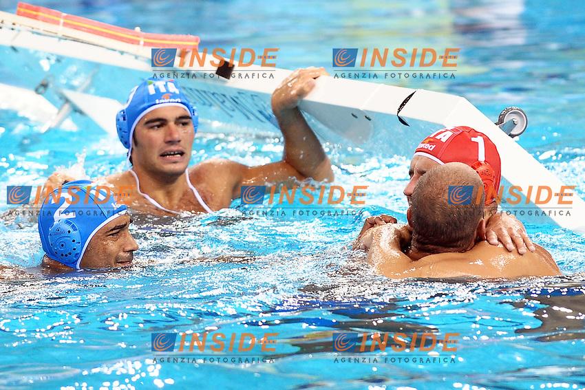 Italia Medaglia D'Oro - Gold medal.Men's Waterpolo Final - Pallanuoto.Italia Serbia 8-7.Shanghai 30/7/2011 .14th FINA World Championships.Foto Andrea Staccioli Insidefoto