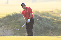 Fabrizio Zanotti (PAR) during the first round of the NBO Open played at Al Mouj Golf, Muscat, Sultanate of Oman. <br /> 15/02/2018.<br /> Picture: Golffile | Phil Inglis<br /> <br /> <br /> All photo usage must carry mandatory copyright credit (&copy; Golffile | Phil Inglis)