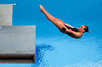 Picture by Rogan Thomson/SWpix.com - 18/07/2017 - Diving - Fina World Championships 2017 -  Duna Arena, Budapest, Hungary - Robyn Birch of Great Britain competes in the Mixed Team Event Final.