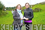 Lord Mayor of Cahersiveen Alana Kelleher on the right presenting Lisa Hallissey with the prize for the Best Dressed/Most Appropriately Dressed lady at the Cahersiveen Races on Sunday.