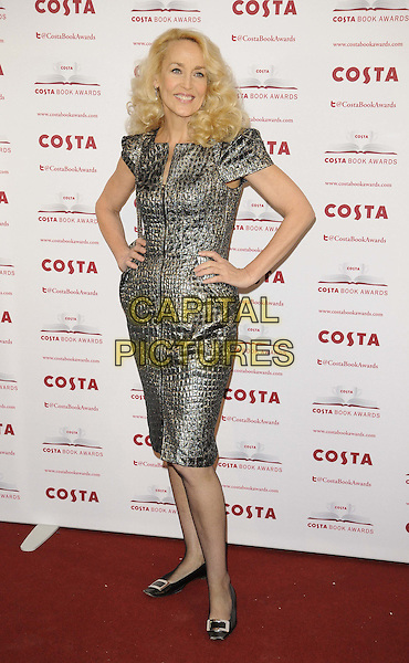 LONDON, ENGLAND - JANUARY 28: Jerry Hall attend the Costa Book Of The Year Award 2013, Quaglino's bar &amp; restaurant, Bury St., on Tuesday January 28, 2014 in London, England, UK.<br /> CAP/CAN<br /> &copy;Can Nguyen/Capital Pictures