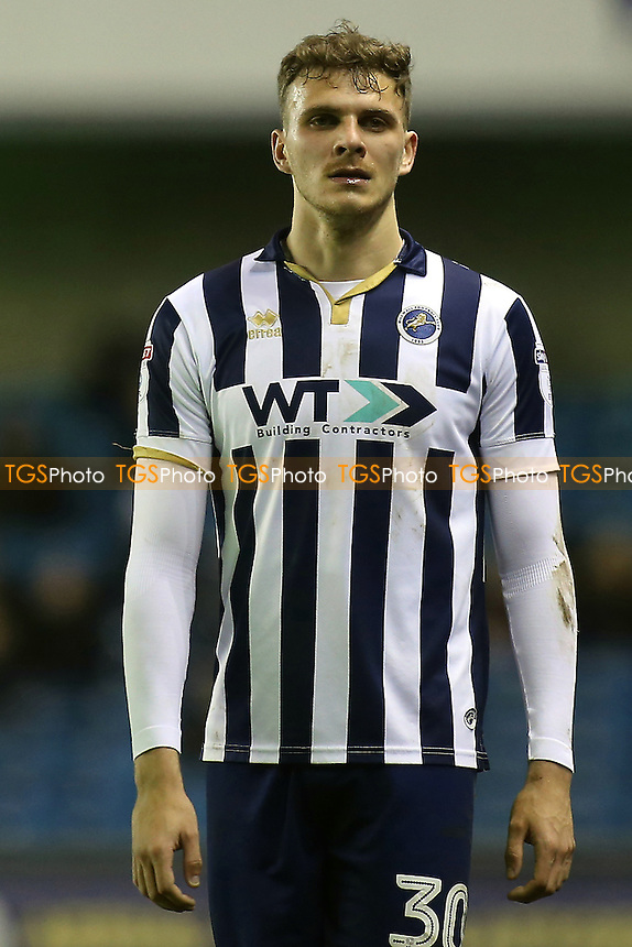 Harry Smith of Milllwall during Millwall vs Peterborough United, Sky Bet EFL League 1 Football at The Den on 28th February 2017
