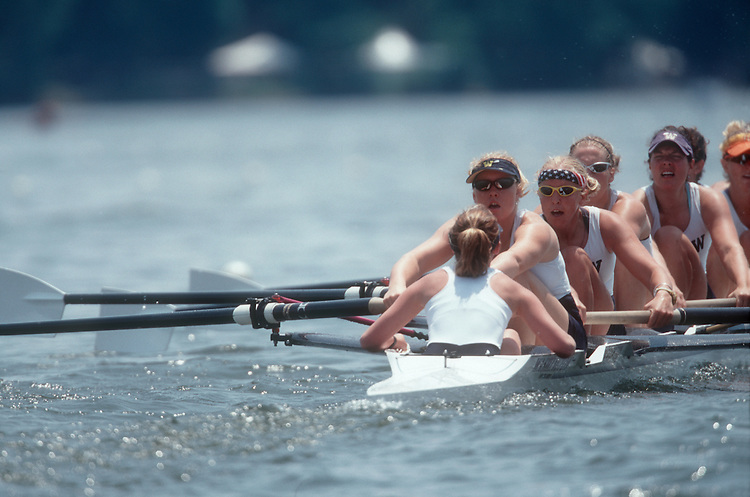 University of Washington women's rowing, NCAA National Championships, Indianapolis, Indiana, second varsity,