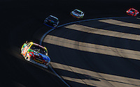 Mar 2, 2008; Las Vegas, NV, USA; NASCAR Sprint Cup Series driver Kyle Busch during the UAW Dodge 400 at Las Vegas Motor Speedway. Mandatory Credit: Mark J. Rebilas-US PRESSWIRE