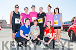 Front l-r Denise Guerin,Bríd King and Aoife King.Back l-r Mary Dineen Higgins,Kathleen Guerin,Christina Dineen,Susan Lacey,Samantha Drury and Angela O'Mahony at the annual Ballyheigue Family Resource Centre Road Race & Fun Run on Sunday