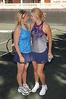 DELRAY BEACH, FL - NOVEMBER 03: Chris Evert and Maeve Quinlan attend the Chris Evert/Raymond James Pro-Celebrity Tennis Classic at the Delray Beach Tennis Center on November 3, 2017 in Delray Beach Florida. <br /> CAP/MPI04<br /> &copy;MPI04/Capital Pictures