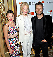 10 September  2018 - Toronto, Ontario, Canada. Tatiana Maslany, Nicole Kidman, Sebastian Stan . &quot;Destroyer&quot; Premiere - 2018 Toronto International Film Festival at the Winter Garden Theatre. Photo Credit: Brent Perniac/AdMedia<br /> CAP/ADM/MJT<br /> &copy; MJT/ADM/Capital Pictures