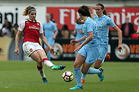 Dominique Janssen of Arsenal Women during Arsenal Women vs Manchester City Women, FA Women's Super League FA WSL1 Football at Meadow Park on 12th May 2018