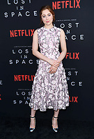 09 April 2018 - Hollywood, California - Mina Sundwall. NETFLIX's &quot;Lost in Space&quot; Season 1 Premiere Event held at Arclight Hollywood Cinerama Dome. <br /> CAP/ADM/BT<br /> &copy;BT/ADM/Capital Pictures