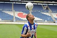 VOETBAL: HEERENVEEN: Abe Lenstra Stadion, 24-06-2013, Nieuwe speler sc Heerenveen, Eredivisie seizoen 2013/2014, Yanic Wildschut, © Martin de Jong