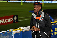 Blackpool's Armand Gnanduillet <br /> <br /> Photographer Andrew Kearns/CameraSport<br /> <br /> The Emirates FA Cup Second Round - Solihull Moors v Blackpool - Friday 30th November 2018 - Damson Park - Solihull<br />  <br /> World Copyright © 2018 CameraSport. All rights reserved. 43 Linden Ave. Countesthorpe. Leicester. England. LE8 5PG - Tel: +44 (0) 116 277 4147 - admin@camerasport.com - www.camerasport.com