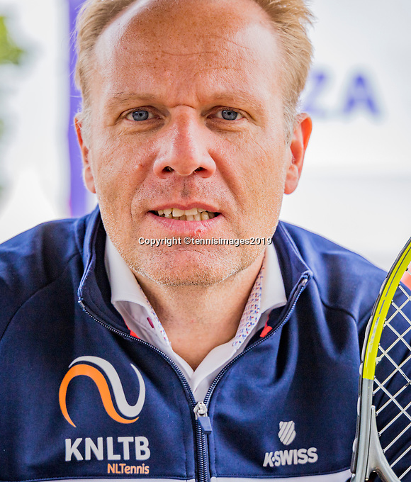 Rosmalen, Netherlands, 13 June, 2019, Tennis, Libema Open,  Albert Jan Smit KNLTB <br /> Photo: Henk Koster/tennisimages.com