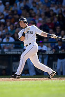 September 28, 2008: Seattle Mariners catcher Rob Johnson at-bat during a game against the Oakland Athletics at Safeco Field in Seattle, Washington.