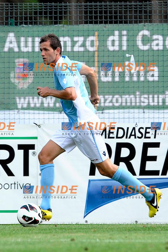 Senad Lulic Lazio.Auronzo di Cadore 26/7/2012.Football Calcio 2012 / 2013 .Amichevole Friendly Match.SS Lazio Vs FC Torino.Foto Insidefoto.