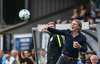 Wycombe Wanderers Manager Gareth Ainsworth during the Sky Bet League 2 match between Wycombe Wanderers and Colchester United at Adams Park, High Wycombe, England on 27 August 2016. Photo by Andy Rowland.