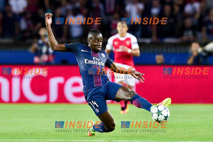 MATUIDI Blaise (PSG) <br /> Parigi 13-09-2016 <br /> Paris Saint Germain - Arsenal <br /> Champions League 2016/2017 <br /> Foto Panoramic/Insidefoto