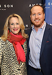 Katie Finneran and Darren Goldstein attends the Broadway Opening Night of 'AMERICAN SON' at the Booth Theatre on November 4, 2018 in New York City.