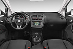 Stock photo of straight dashboard view of a 2014 Seat ALTEA XL I-TECH Special 5 Door Mini MPV 2WD Dashboard