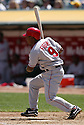 Chone Figgins in action during the Los Angeles Angels v. Oakland Athletics game April 16, 2005.....Los Angeles Angels lost 0-1.....Rob Holt/ SportPics