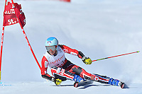 February 16, 2017: Marie-Michele GAGNON (CAN) competing in the women's giant slalom event at the FIS Alpine World Ski Championships at St Moritz, Switzerland. Photo Sydney Low