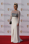 London, UK. 8 May 2016. Actress Chanel Cresswell. Red carpet  celebrity arrivals for the House Of Fraser British Academy Television Awards at the Royal Festival Hall.
