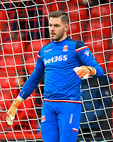 Jack Butland of Stoke City during AFC Bournemouth vs Stoke City, Premier League Football at the Vitality Stadium on 3rd February 2018