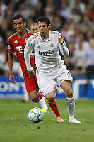 25.04.2012 SPAIN -  UEFA Champions League Semi-Final 2nd leg  match played between Real Madrid CF vs  FC Bayern Munchen 2 (1) - 1 (3) at Santiago Bernabeu stadium. The picture show Ricardo Izecson Kaka (Brazilian midfielder of Real Madrid)