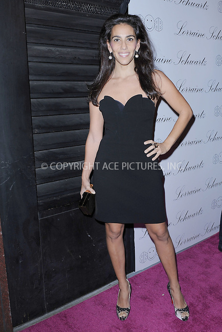 "WWW.ACEPIXS.COM . . . . . .November 22, 2010...New York City...Rory Tahari arrives to the launch event for Lorraine Schwartz ""2BHappy"" jewelry collection on November 22, 2010 in New York City....Please byline: KRISTIN CALLAHAN - ACEPIXS.COM.. . . . . . ..Ace Pictures, Inc: ..tel: (212) 243 8787 or (646) 769 0430..e-mail: info@acepixs.com..web: http://www.acepixs.com ."