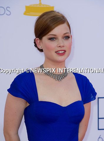 "JANE LEVY - 64TH PRIME TIME EMMY AWARDS.Nokia Theatre Live, Los Angelees_23/09/2012.Mandatory Credit Photo: ©Dias/NEWSPIX INTERNATIONAL..**ALL FEES PAYABLE TO: ""NEWSPIX INTERNATIONAL""**..IMMEDIATE CONFIRMATION OF USAGE REQUIRED:.Newspix International, 31 Chinnery Hill, Bishop's Stortford, ENGLAND CM23 3PS.Tel:+441279 324672  ; Fax: +441279656877.Mobile:  07775681153.e-mail: info@newspixinternational.co.uk"