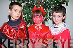 TRICKER TREAT: Stephen Ryan, Clodagh Begley and Dylan O'Brien who on Halloween night Friday in the Ballyroe Heights Hotel Tralee were at the Ballyroe/Clogherbrien Halloween Party............................ ..............................   Copyright Kerry's Eye 2008