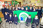 GREEN FLAG: Celebrating their fourth green flag were the sixth class pupils of Ardfert national school on Tuesday.