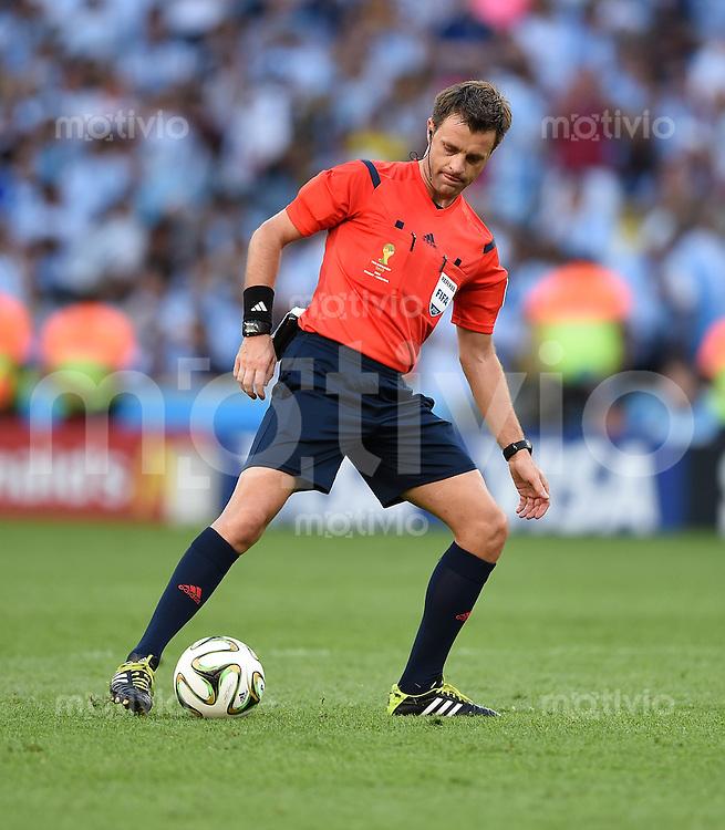 FUSSBALL WM 2014                FINALE Deutschland - Argentinien     13.07.2014 Schiedsrichter Nicola Rizzoli