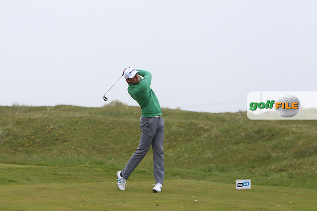 Jonathan Yates (Naas) on the 4th tee during Round 3 of the Flogas Irish Amateur Open Championship at Royal Dublin on Saturday 7th May 2016.<br /> Picture:  Thos Caffrey / www.golffile.ie