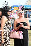 Best Dressed Lady Judge Lisa Cannon with Jacqui Layton at the Bellewstown Races...Photo NEWSFILE/Jenny Matthews.(Photo credit should read Jenny Matthews/NEWSFILE)....This Picture has been sent you under the condtions enclosed by:.Newsfile Ltd..The Studio,.Millmount Abbey,.Drogheda,.Co Meath..Ireland..Tel: +353(0)41-9871240.Fax: +353(0)41-9871260.GSM: +353(0)86-2500958.email: pictures@newsfile.ie.www.newsfile.ie.FTP: 193.120.102.198.